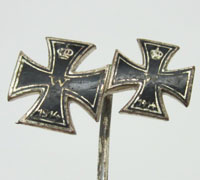 Imperial 2nd and 1st Class Iron Cross Stickpin