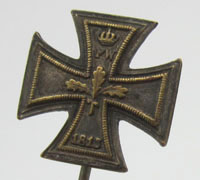 Imperial 2nd Class Reverse Face Stickpin