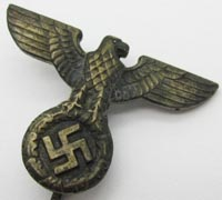 NSDAP National Eagle Lapel Stickpin