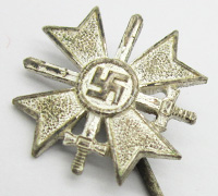 1st Class War Merit Cross with Swords Stickpin