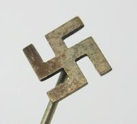 Silver NSDAP Swastika Stickpin