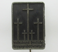 War Graves Commission Membership Stickpin