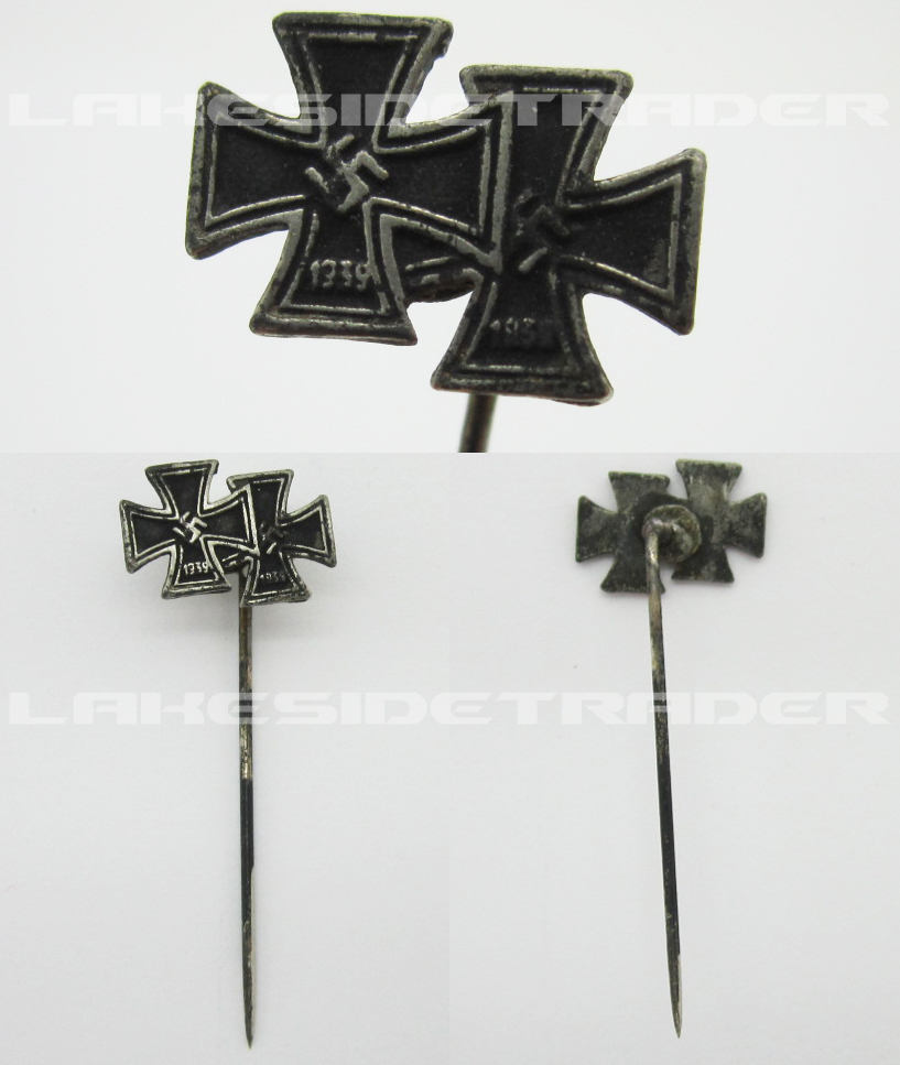 1st and 2nd Class Iron Cross Stickpin