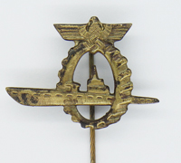 Navy U-Boat Submarine Dock Workers Badge