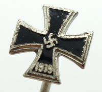Round Three - 2nd Class Iron Cross - Stickpin