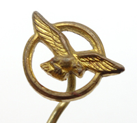 "R.A.F. ""The Rafwaffe"" Civilian Labor Stickpin"