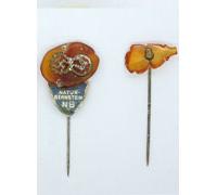 2 Amber Stickpins
