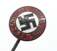 NSDAP Membership Stickpin by S&L