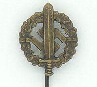 Bronze SA Sports Badge Stickpin