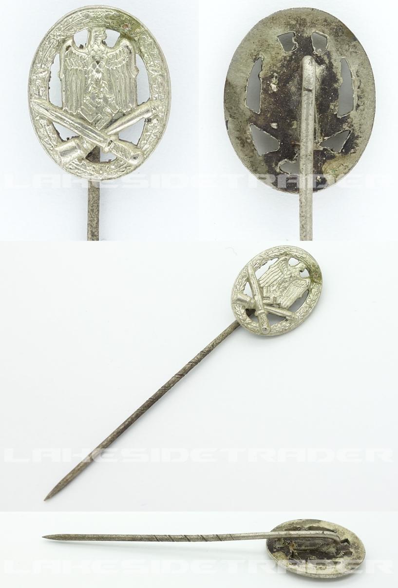 Stickpin - General Assault Badge
