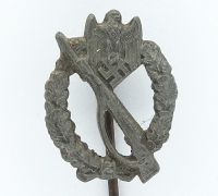 Stickpin - Army Infantry Assault Badge in Bronze