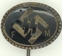SS-FM Patron Member Stickpin by Deschler