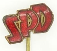 SPD Supporters Stickpin