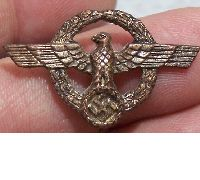 Golden Faithful Service Pin for civil employees of the Army and Navy