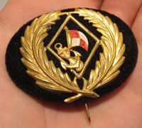 Unknown Navy Stickpin/Capbadge