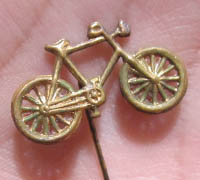 Dispatch rider Stickpin