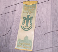 Wupper's National Castle Festival 1936 Banner Pin