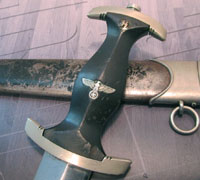 Early Partial Rohm SS Dagger by Hammesfahr