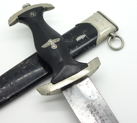 Early SS Dagger by Hammesfahr Awaded to a LAH/Totenkopf