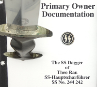Numbered & Researched – Early SS Dagger by G. Hammesfahr