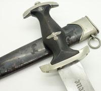 Early SS Dagger by C. Bertram Reinh. Sohn