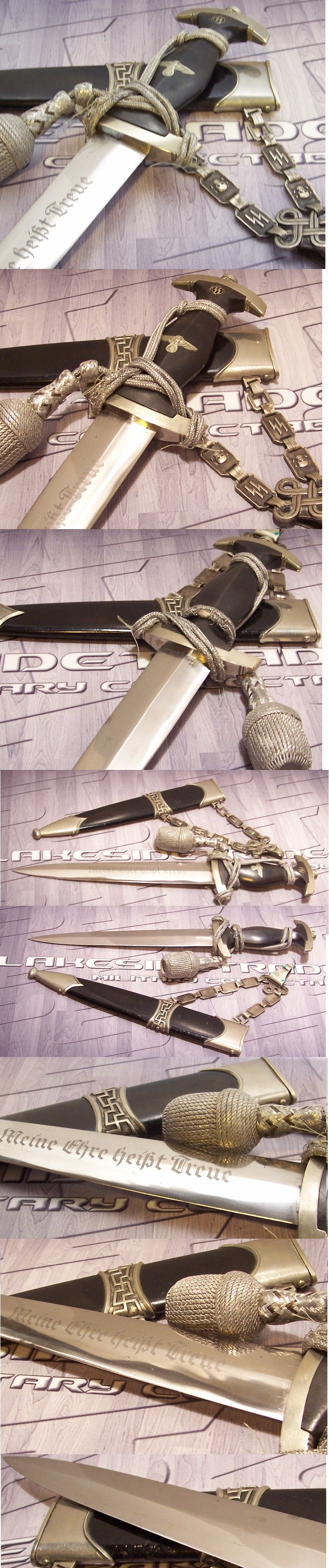 Type II Chained SS Dagger owned by an Officer