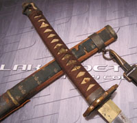 Late-war Japanese Type 98 Army Officer Sword