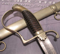 Etched Bavarian Home Guard Sword