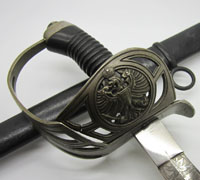 Imperial Etched M89 Basket Hilt Cavalry Sword