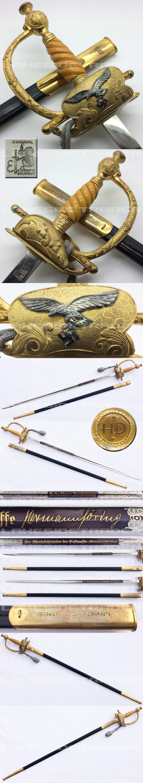 Hermann Dahlmann Luftwaffe Generals Sword