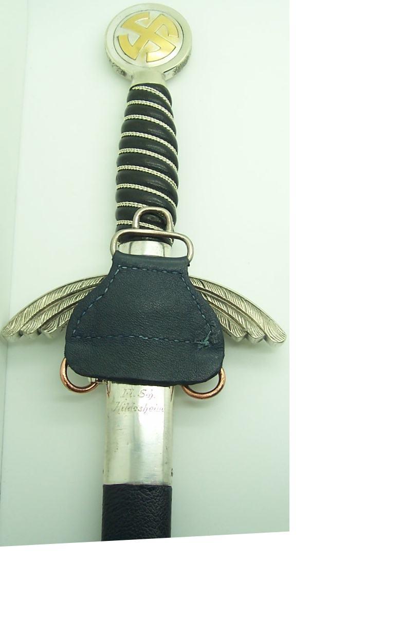 Restored Personalized SMF Luftwaffe Sword