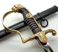 Army Officers Leopard Head Sword by Eickhorn