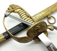 Navy Officers Sword by Alcoso