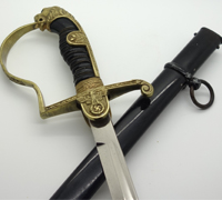 Personalized Lion Head Sword by Anton Wingen Jr.