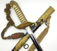 Japanese 1883 Naval Sword