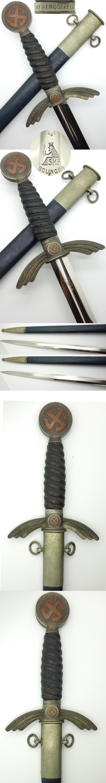 Early Personailzed SMF Luftwaffe Sword
