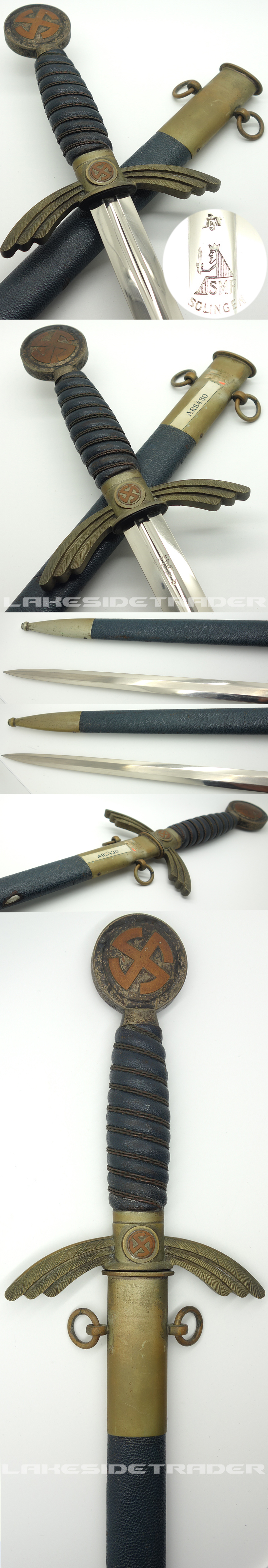 Early uncleaned SMF Luftwaffe Sword