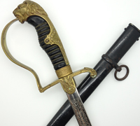 Eickhorn Army Lion-head with Triple Etched Blade