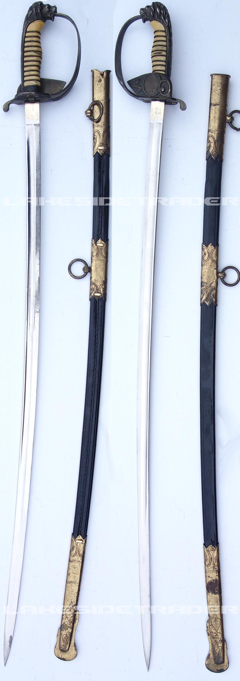 Imperial WKC Navy Sword