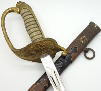 Personalized Japanese 1883 Naval Sword