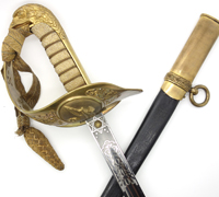 RAF Officer Sword with Portepee