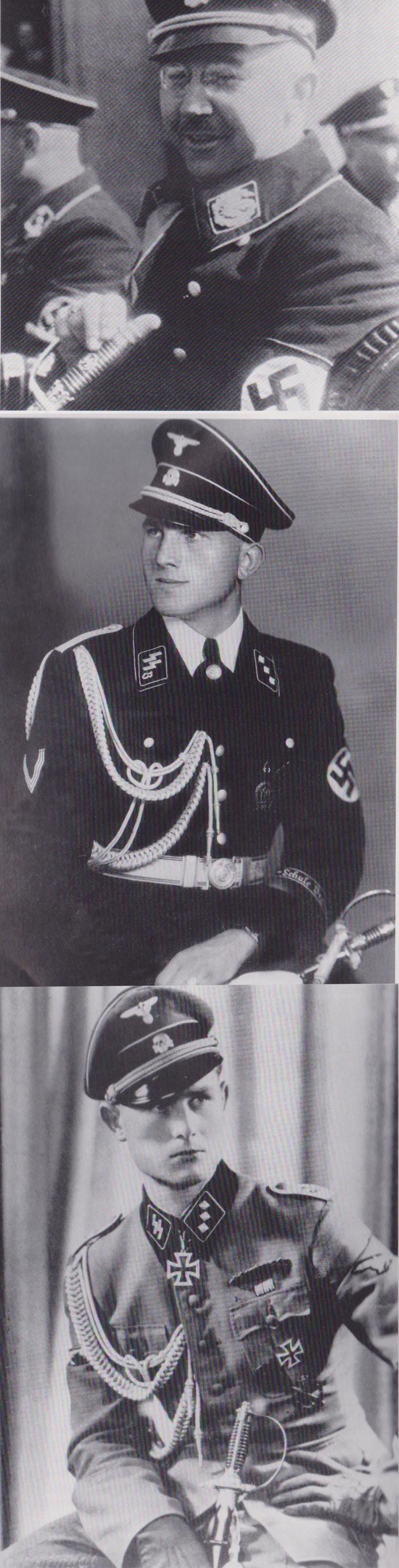 Early SS Officers Degen by Krebs