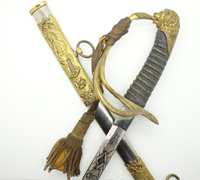 American fraternal sword for the Knights of Pythias