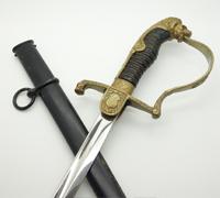 Army Officers Lion-head Sword by Eickhorn