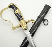 Interesting Puma Dove-head Army Sword