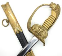 Depot Marked Navy Sword by WKC