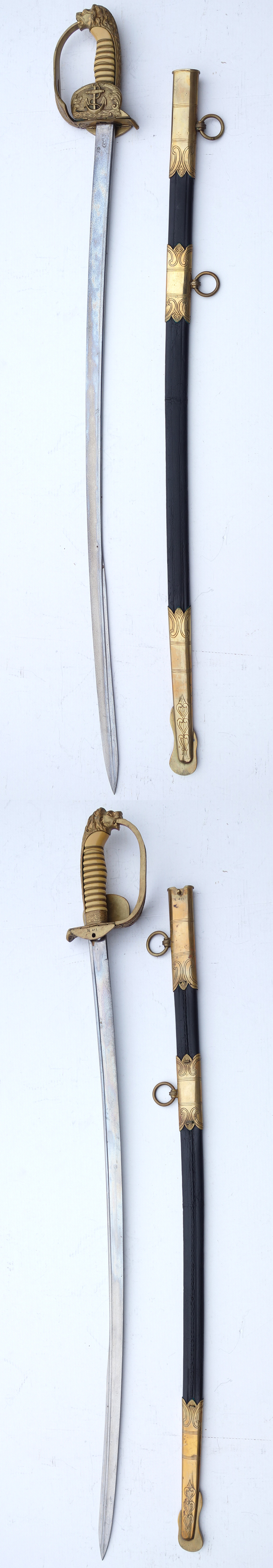 Depot Marked Navy Sword by WKC