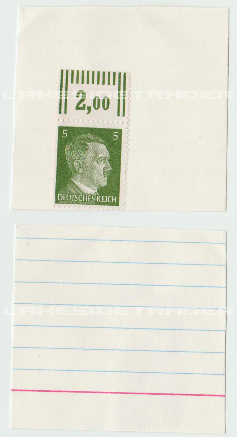 5 Pfenning Deutsches Reich Stamp