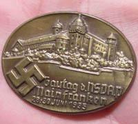 NSDAP Mainfranken Tinnie 1935