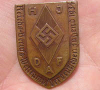 HJ / DAF Badge